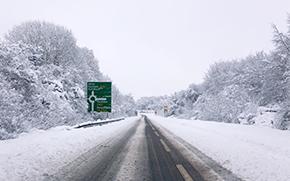 Мониторинг снежного и ледового покрова на зимних дорогах в рамках интеллектуального управления дорогами
