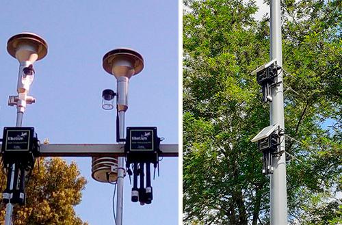 Libelium Plug&Sense! installed